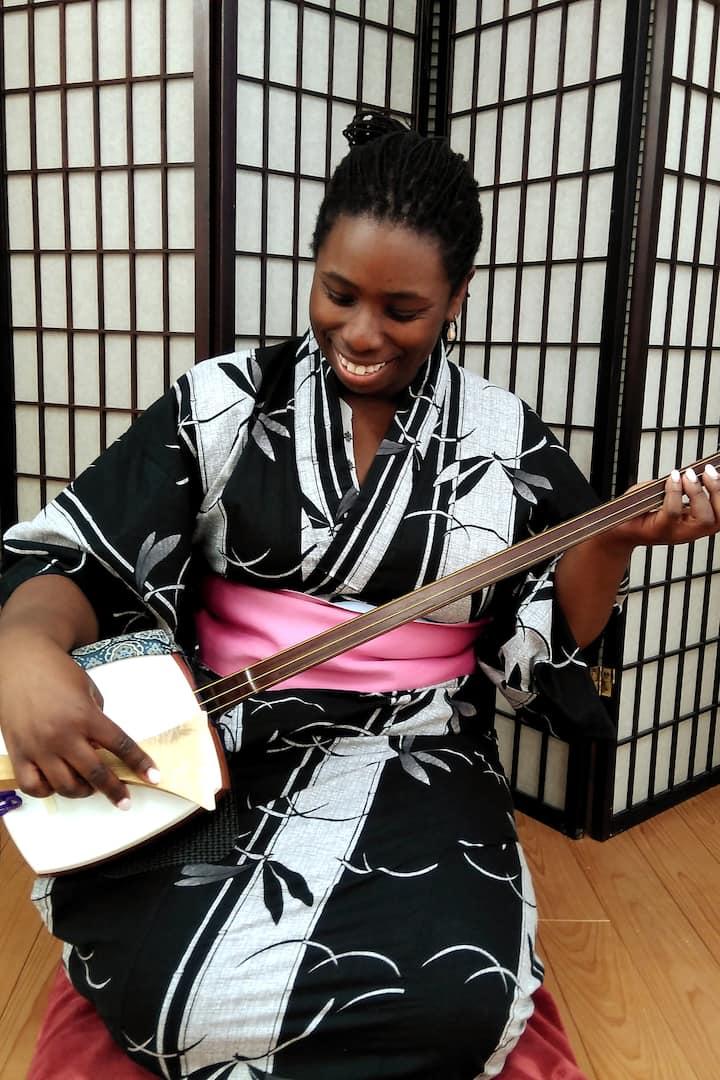 JapaneseInstrument(Shamisen)