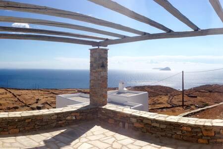 Thymari House - Endless alluring Aegean view - Kea Kithnos - Talo