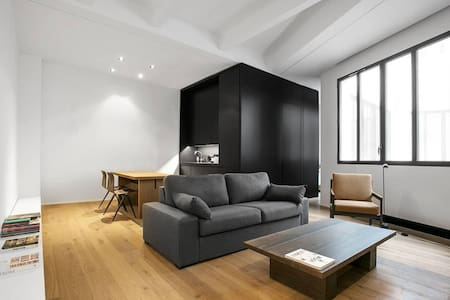 Minimalist Architect Apartment Paris X