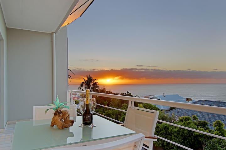 Oceans View  Sleek penthouse with coastal feel
