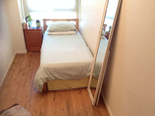 Fabulous views, central Gib single room, breakfast