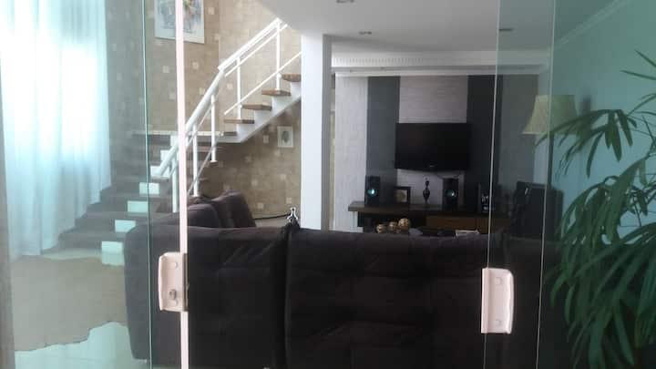 Casa moderna com bela visão