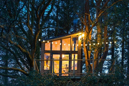 The Birdbox, Donegal Treehouse with Glenveagh view