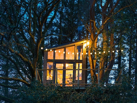 Birdbox, Donegal Treehouse z widokiem na Glenveagh