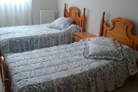 Twin bed in private room in quite area. - Guadalajara - Apartamento