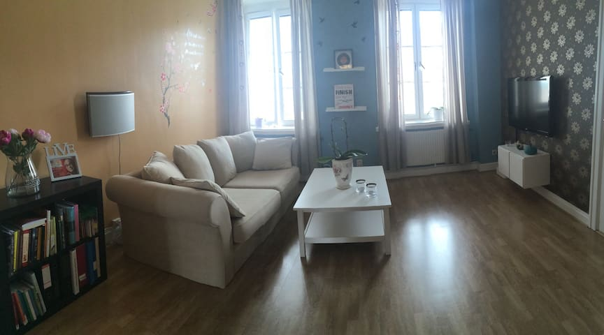 Nice 96sqm apartment in Malmö city! - Malmø - Wohnung