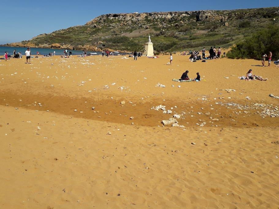 Nearby ramla beach