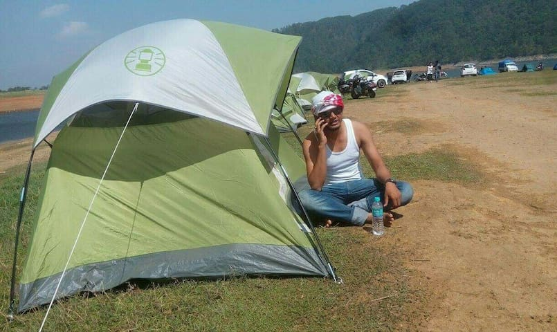 Tents & Camping equipment..!! Charges Extra. Host may accompany you subjected to availability.