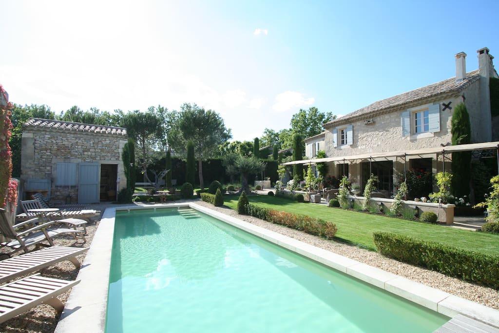 piscine chauffée angle 2