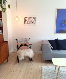 Lovely and bright flat with balcony in Nørrebro - 코펜하겐(Copenhagen) - 아파트