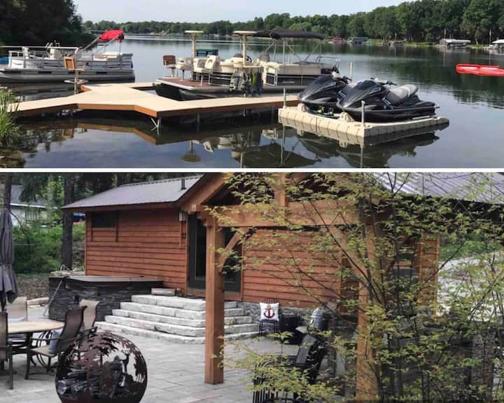 Cabin on Private Lake: Couples Get Away or Family