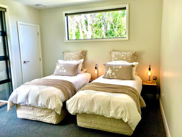 Bush View room - twin