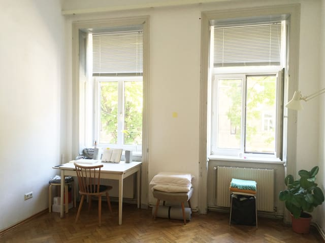 Bright room in apartment near Hauptbahnhof - Wien - Apartment