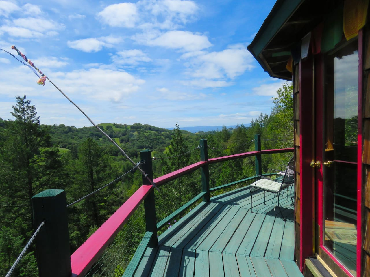 View from the Star house deck