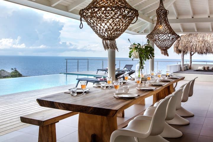 Villa Baya Gentil op Jan Thiel aan zee!