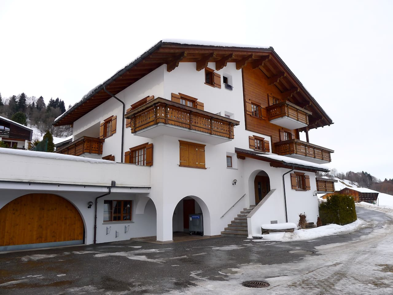 Holidays Apartment (2 bedrooms) 120m2  for 4 o 6 people, in Conters im Prättigau, Klosters/Davos Ski Resort