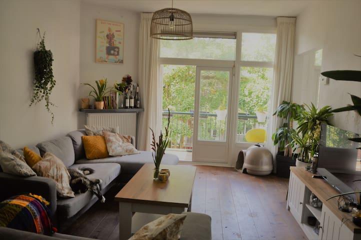 Comfy double room in beautiful apartment 'De Pijp'