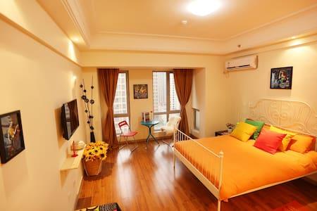 【松江万达】 温馨家园 一房式套房 - Sanghaj