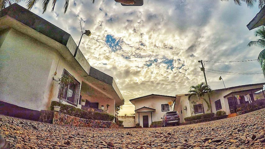 Charming duplex house in safe, quiet Sinkor compnd