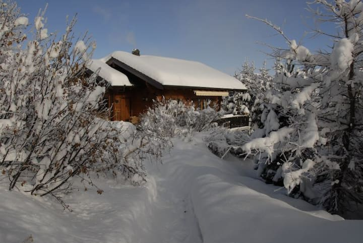 Family chalet, at the foot of the ski slopes