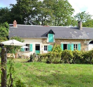 La Maison, Flee, Sarthe, Pays de la Loire - Flée - 小木屋
