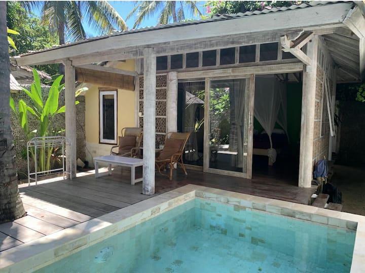 Charming Moana wooden villa