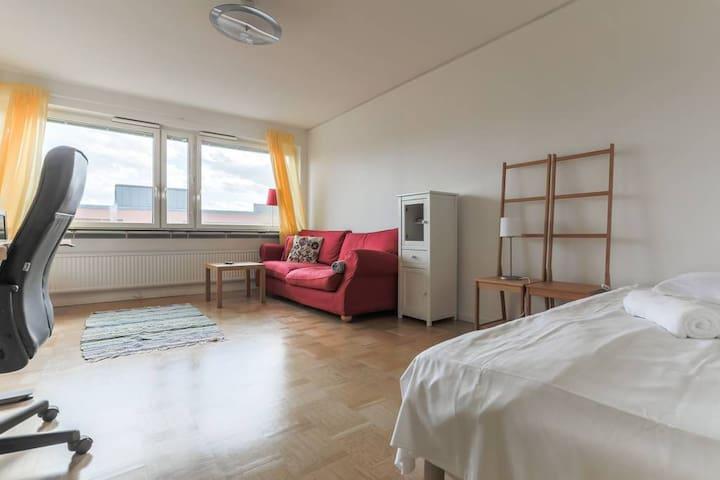Big, charming (living) room in trendy Södermalm