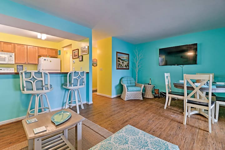 NEW! 1BR South Haven Condo Steps to Lake Michigan!