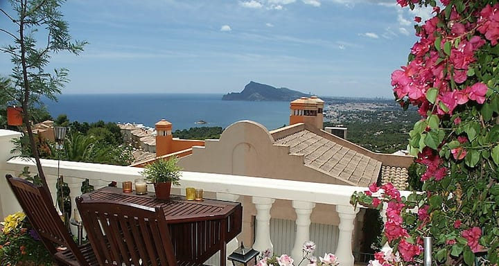 Spectacular Seaviews @ Copenhague 10, Altea Hills