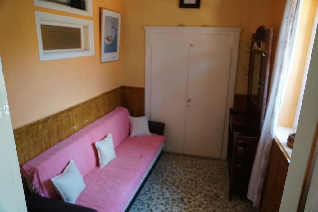 ground floor sofa bedroom