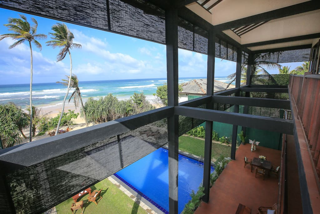All bedroom and sitting areas have a spectacular view of the Ocean