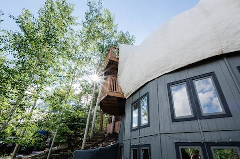 Stunning Geodesic Dome on Free Bus Route West Vail