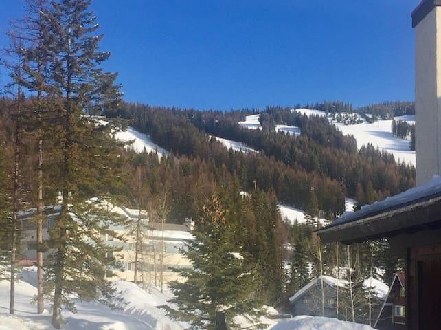Ski-in/ski-out Condo on Whitefish Mountain Resort!