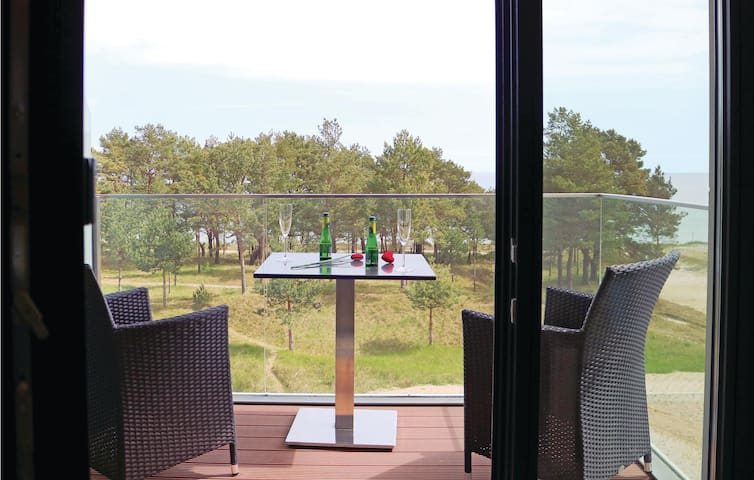 Holiday apartment with 1 bedroom on 42m² in Prora/Rügen