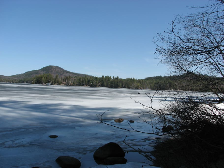 Loon Lake in winter