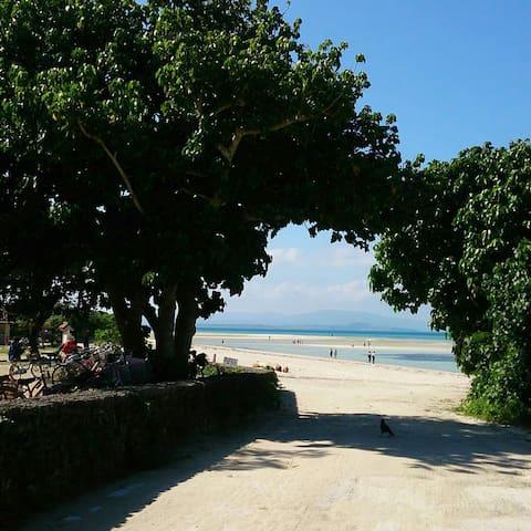海まで歩いて徒歩3分! [Free wifi] Guest room AQUA