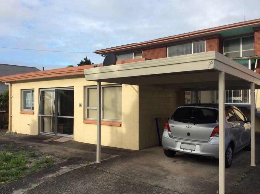 house & carport