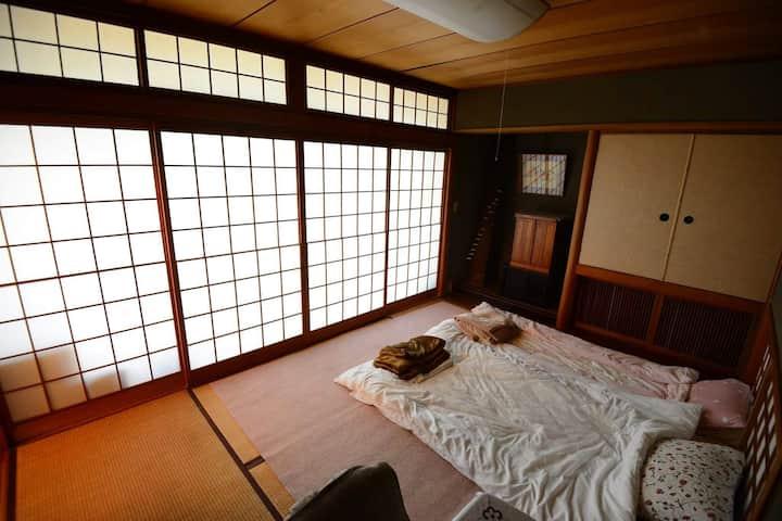 金閣寺近く駐車場完備Japanese traditional room in Kyoto