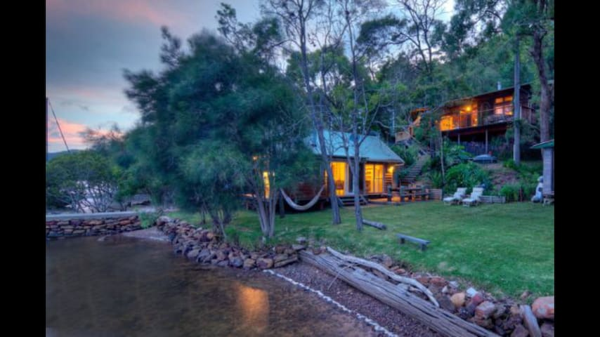 The River House - 4 adults 4 kids 1 - Milsons Passage - Haus
