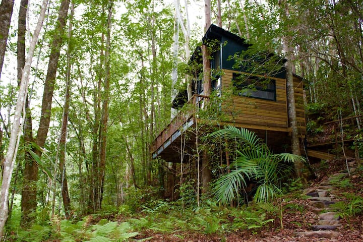 CRYSTAL CREEK TREEHOUSE - Upper Crystal Creek - Cabana en un arbre