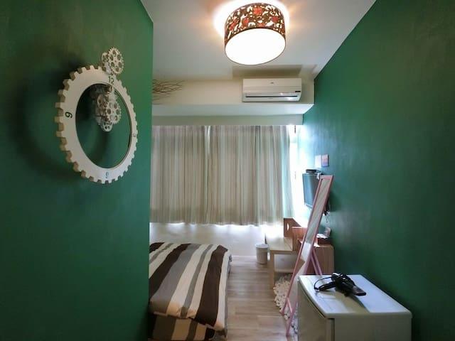 位於逢甲夜市旁,乾淨舒適、溫馨的獨立套房●