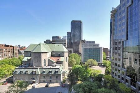 SEXY DOWNTOWN LOFT- AAA AMENITIES & ROOFTOP POOL - Montréal - Condominium