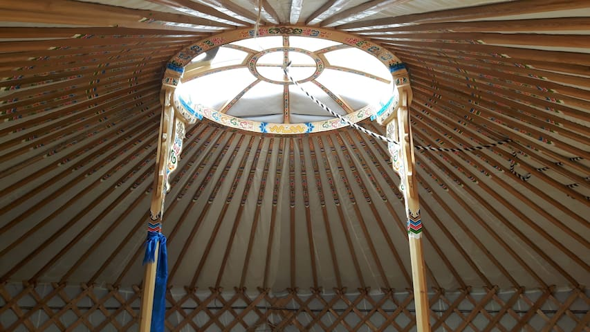 Off-Grid Yurt Retreat