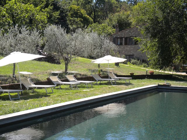 Villa in Umbria with pool and wifi - Otricoli - Vila