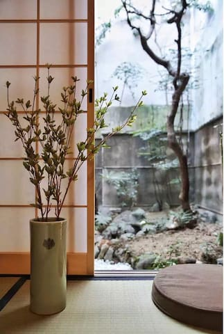 京都不要错过榻榻米,独栋一户建,4间日式客房,每间可住2-3人