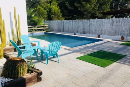Espectacular chalet con piscina privada