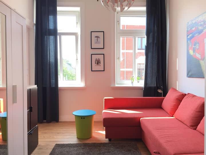 Charmantes Zimmer in Stadtvilla Apt Strandnähe II