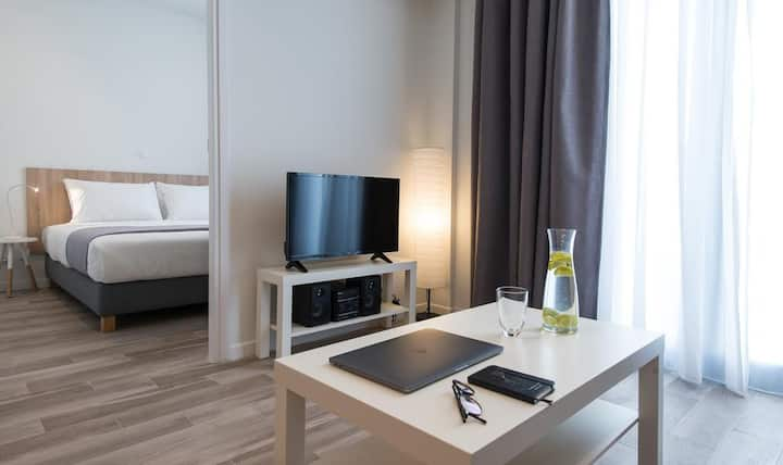 Fully equipped apartment for 4 in the city center