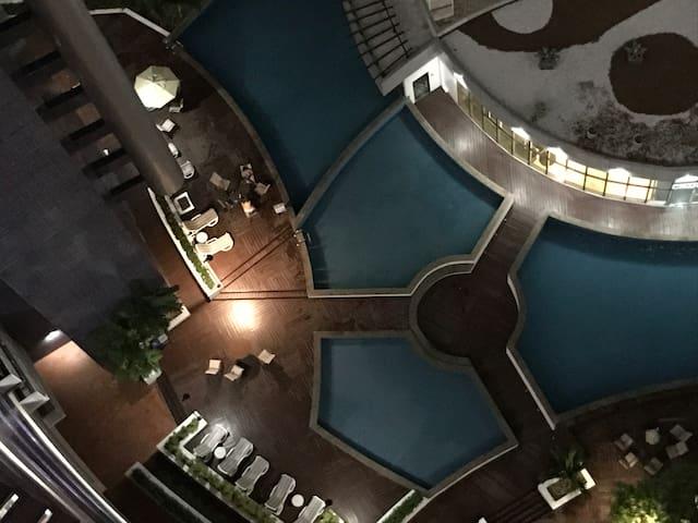 Vip Beira Mar, Luxo, 7 piscinas academia Vista Mar