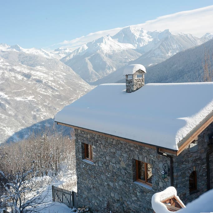Chalet India and the Valley of Bozel